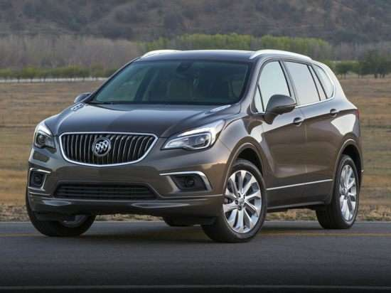 2017 Buick Envision Models, Trims, Information, and ...