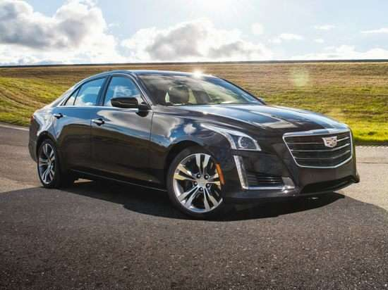 2017 Cadillac CTS 2.0L Turbo Luxury AWD