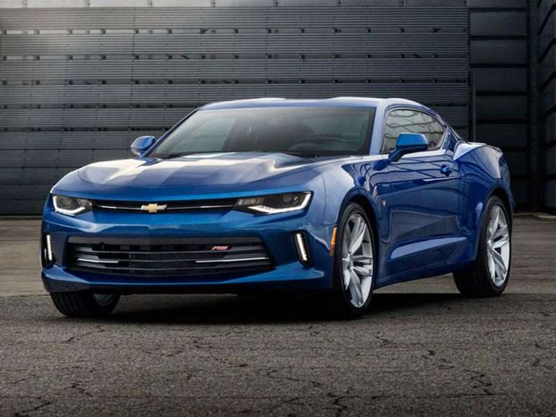 2017 Chevrolet Camaro 1SS Coupe