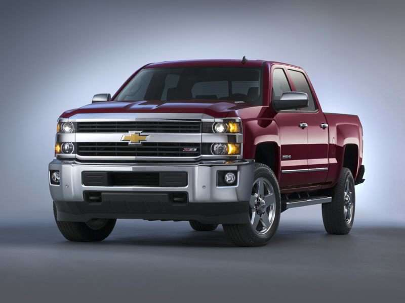 Research the 2017 Chevrolet Silverado 2500HD