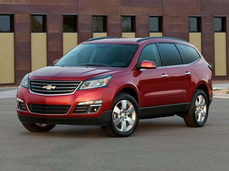 Research the 2017 Chevrolet Traverse