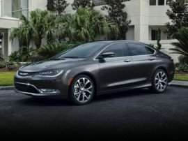 2017 Chrysler 200 Lx 4dr Front Wheel Drive Sedan