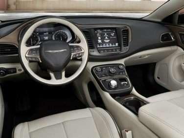2017 Chrysler 200 Models Trims Information And Details