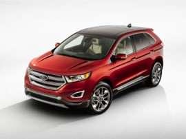 Ford Edge Titanium Dr All Wheel Drive