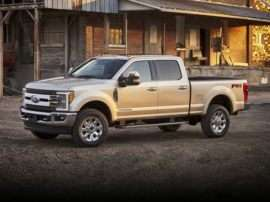 2017 Ford F-250 King Ranch 4x4 SD Crew Cab 8 ft. box 176 in. WB SRW