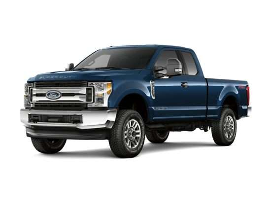 2017 Ford F-250 XLT 4x4 SD Super Cab Short Box