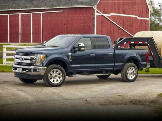 2017 Ford F-250 XLT 4x4 SD Crew Cab Short Box