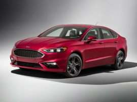 2017 Ford Fusion Platinum 4dr Front-wheel Drive Sedan
