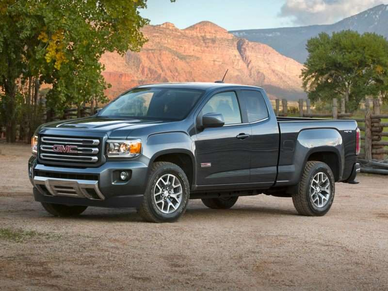 Research the 2017 GMC Canyon
