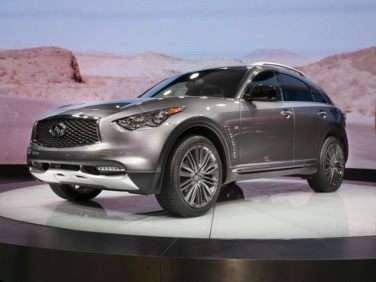 Research the 2017 Infiniti QX70
