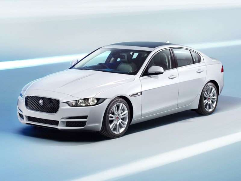 Research the 2017 Jaguar XE