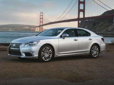Research the 2017 Lexus LS 460