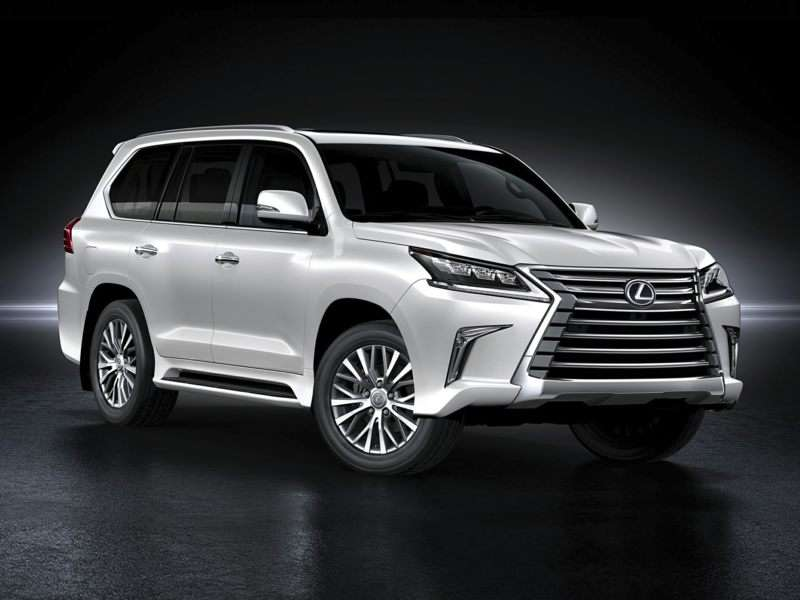 2017 Lexus Lx 570 Pictures Including Interior And Exterior Images Autobytel