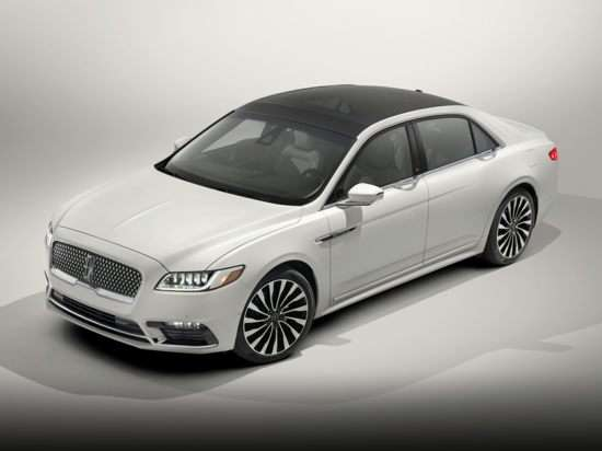 2017 Lincoln Continental Models Trims Information And Details Autobytel