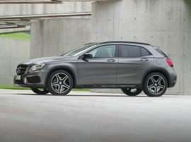 2017 Mercedes-Benz GLA-Class Base GLA250 4dr Front-wheel Drive