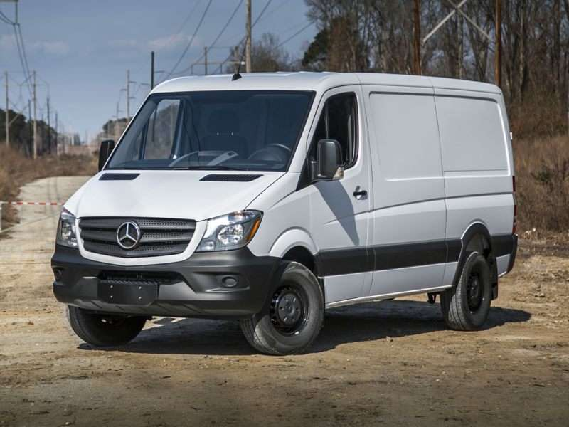 Research the 2017 Mercedes-Benz Sprinter 2500