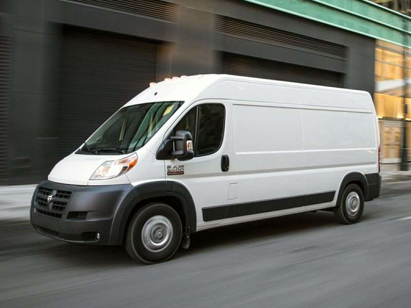 Research the 2017 RAM ProMaster 1500