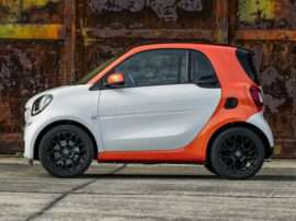 2017 smart fortwo pure Coupe