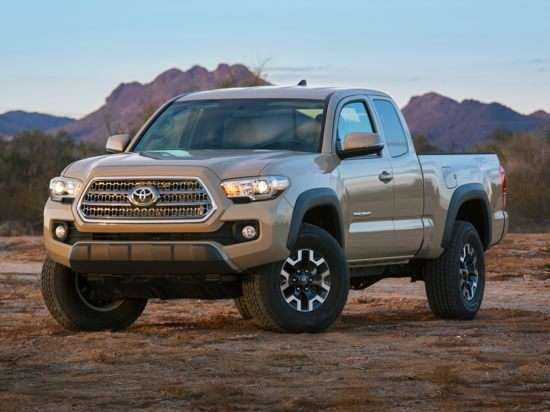 2017 Toyota Tacoma Models Trims Information And Details Autobytel