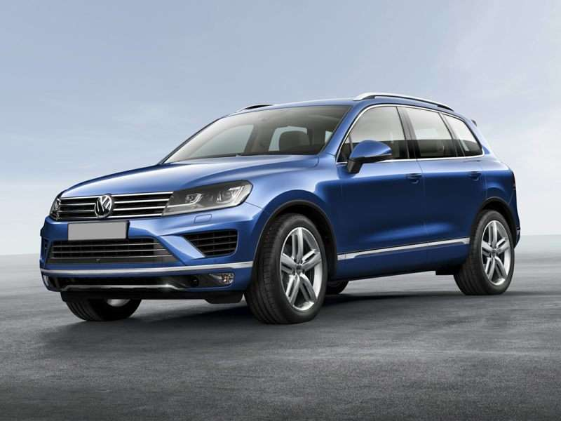 Research the 2017 Volkswagen Touareg