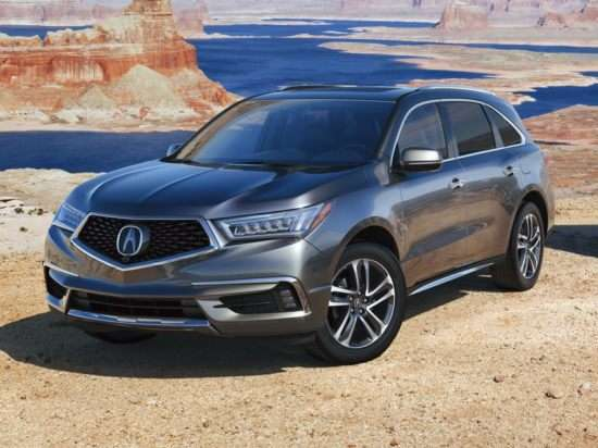 2018 Acura MDX w/Technology & Entertainment Pkgs FWD