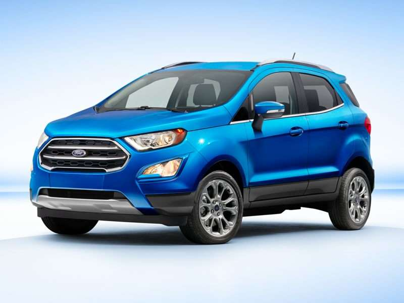 2018 Ford EcoSport Pictures including Interior and ...
