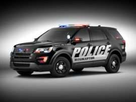 2018 Ford Police Interceptor Utility Base All Wheel Drive