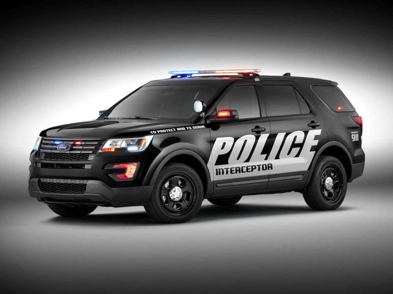2018 Ford Police Interceptor Utility Pictures Including Interior And Exterior Images Autobytel