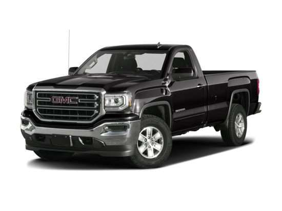 2018 GMC Sierra 1500 Base 4x4 Regular Cab 8' Box