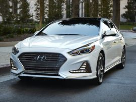 2018 Hyundai Sonata Plug-In Hybrid Base 4dr Sedan