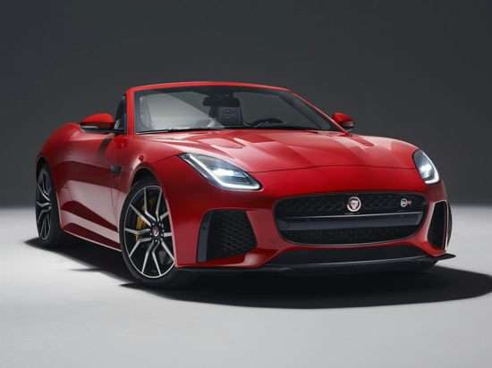 2018 Jaguar F-TYPE 340HP (M6) RWD Convertible