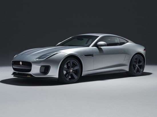 2018 Jaguar F-TYPE 296HP (A8) RWD Coupe