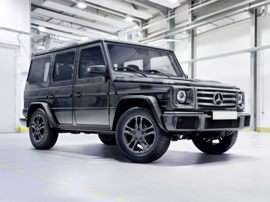 2018 Mercedes-Benz G-Class Base G 550 4dr All-wheel Drive