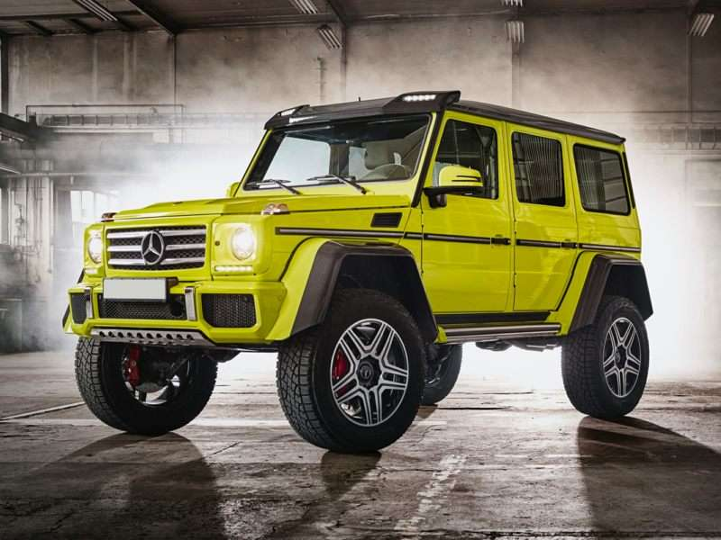 Build A 2018 Mercedes Benz G Class G 550 4x4 Squared Autobytel Com