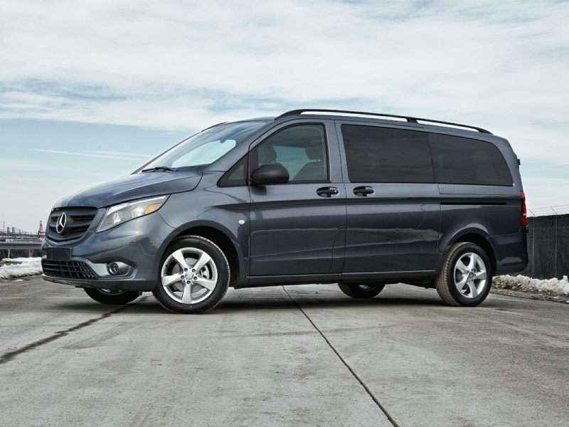 Top 10 best gas mileage vans fuel efficient minivans for 2018 mercedes benz metris redesign