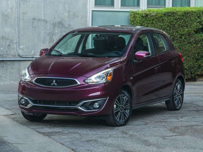 Research the 2018 Mitsubishi Mirage