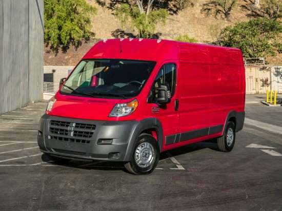 2018 RAM ProMaster 2500 Window Van