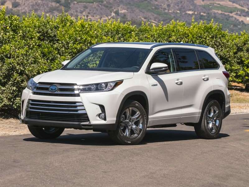 2018 toyota highlander hybrid pictures including interior - Toyota highlander hybrid interior ...