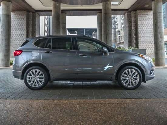 2019 Buick Envision Models, Trims, Information, and ...