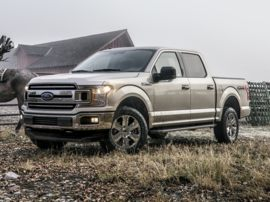 2019 Ford F-150 Platinum 4x4 SuperCrew Cab Styleside 5.5