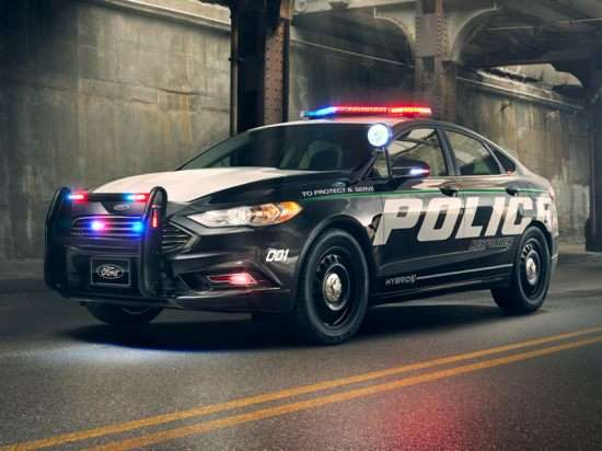 ford police responder hybrid sedan models trims information  details autobytelcom
