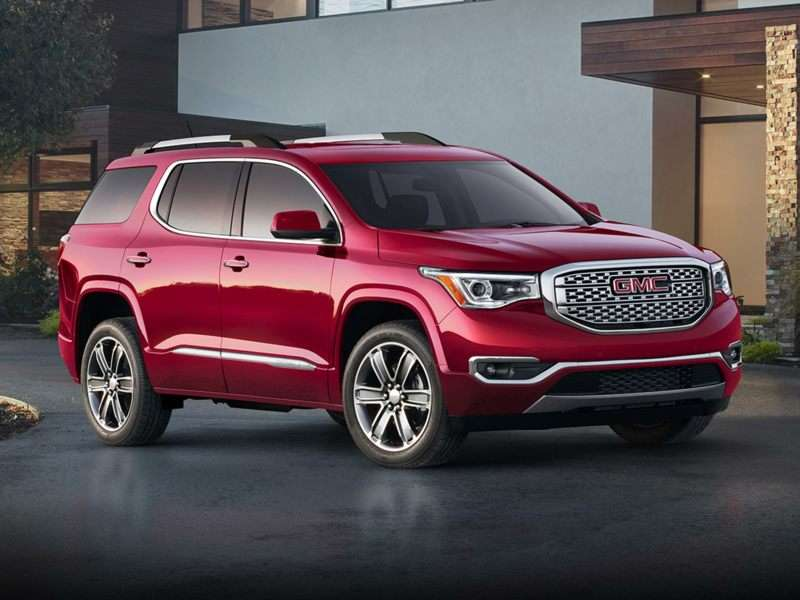 2019 GMC Acadia Pictures including Interior and Exterior ...