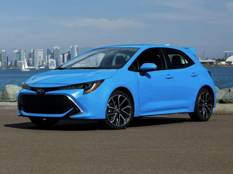 2019 Toyota Corolla Hatchback Pictures Including Interior And
