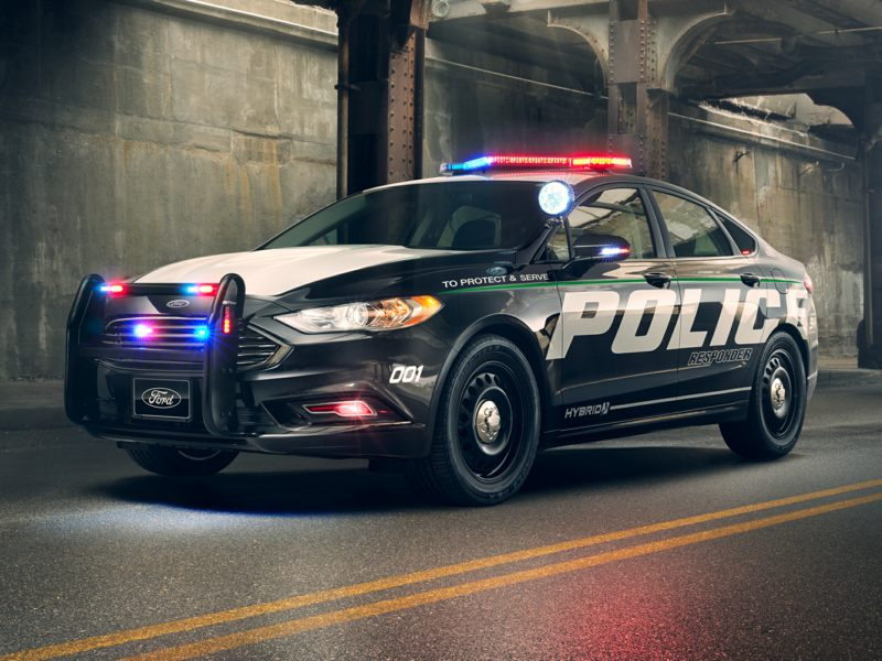 2020 Ford Police Responder Hybrid Sedan Pictures including ...
