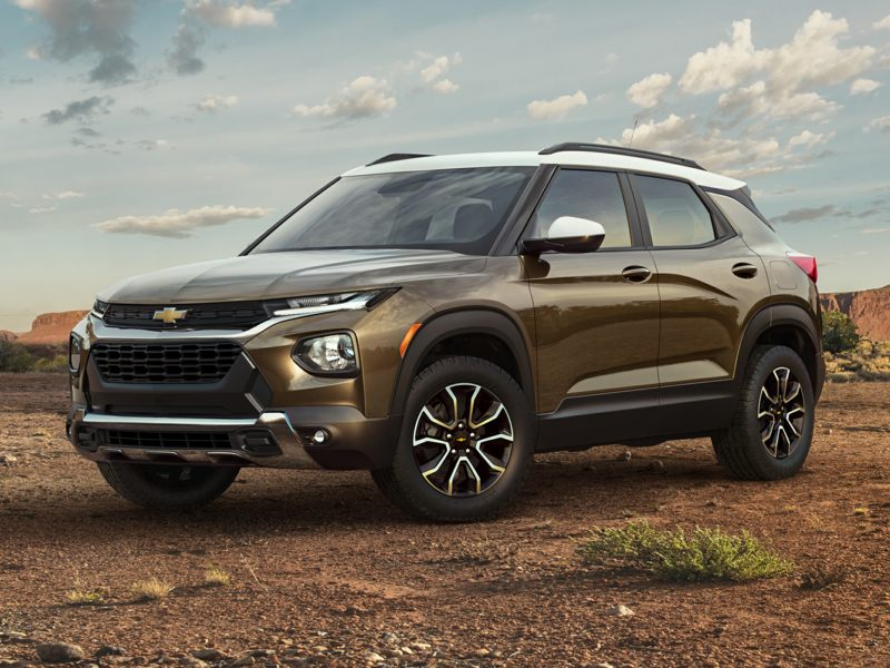 2021 Chevrolet TrailBlazer Pictures including Interior and ...