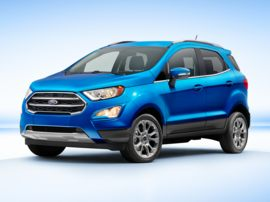 2021 Ford EcoSport S Front-wheel Drive Sport Utility