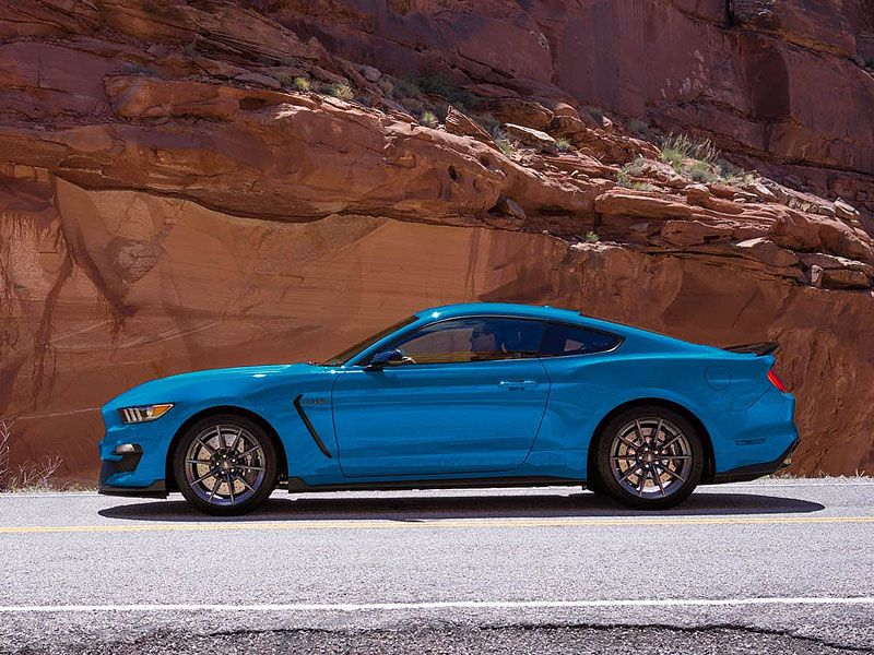 2017 Ford Mustang Shelby GT350   MSRP $56,145