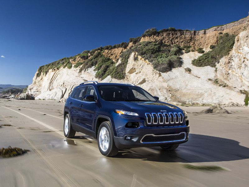 2018 Jeep Cherokee Limited blue