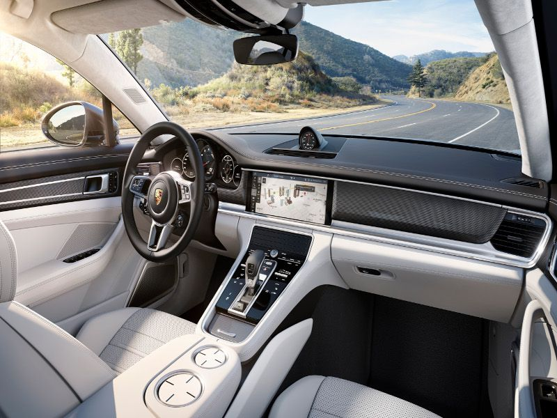 Perfect 2017 Porsche Panamera. Luxury Cars Often Excel In Interior ...
