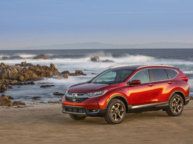 2017 Honda CR V Hero Profile